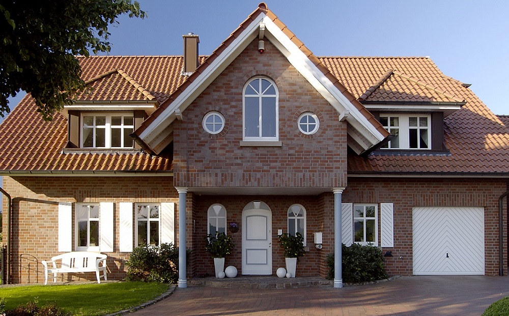дом с клинкера фото