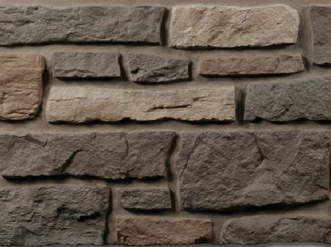 Nailite - Creek Ledgestone Bucks County Gray