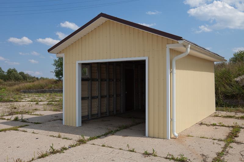 Проекты гаражей своими руками