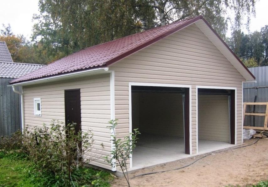 Проект гаража на 2 машины купить купить гараж железобетонный в биробиджане