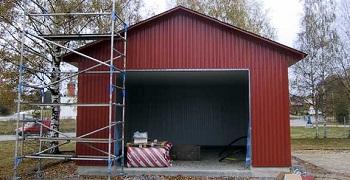 Купить готовый гараж на дачу из какого металла делают гаражи