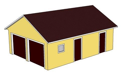 Индивидуальный гараж проект гараж с двухскатной крышей купить