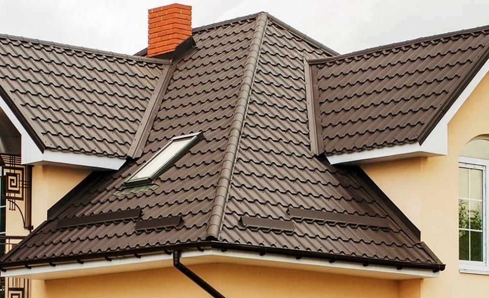 Металлочерепица картинки крыши