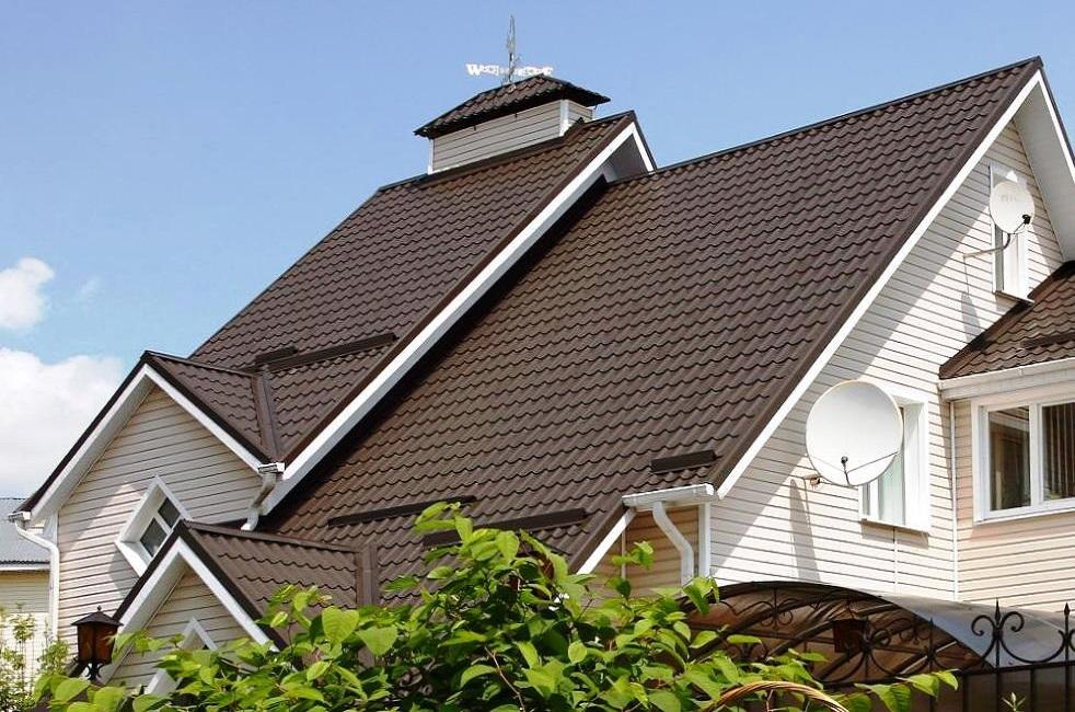 самый трюк фото крыши домов из металлочерепицы монтеррей них