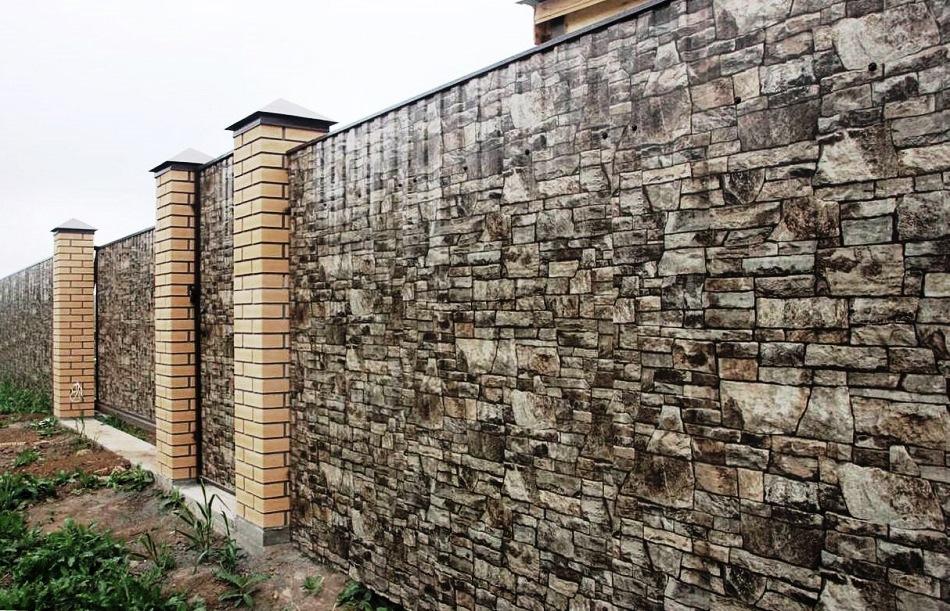 Отделка фундамента дома под камень своими руками фото 647