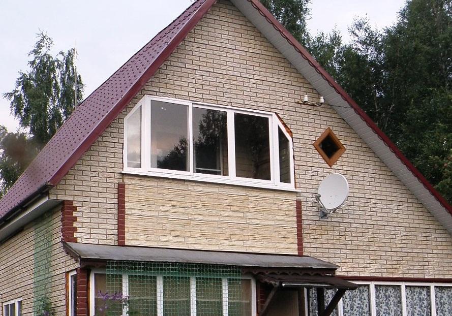 фронтоны домов из сайдинга фото мало кто может